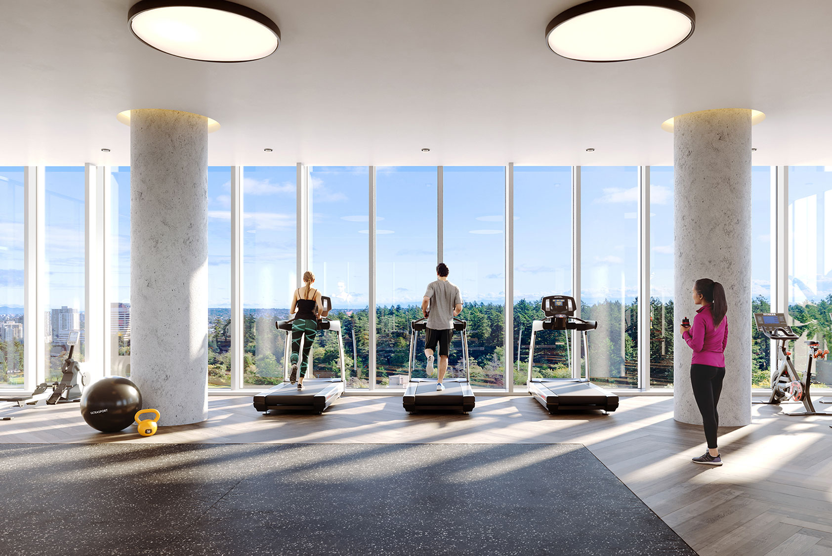 Central Park House, Fitness Studio